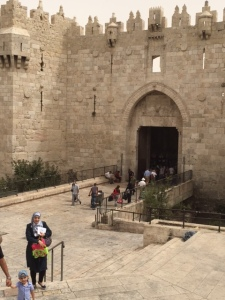 The Damascus gate, one of 7 of Old Jerusalem
