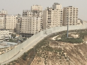 The Wall separating Jerusalem